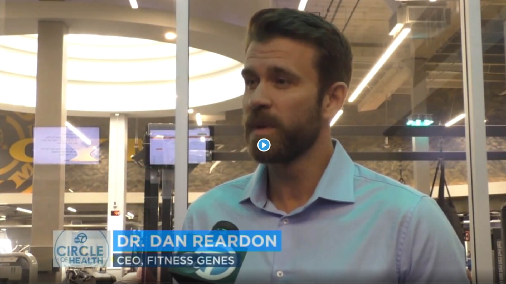 ABC News Channel 7: FitnessGenes testing offered by Gold's Gym