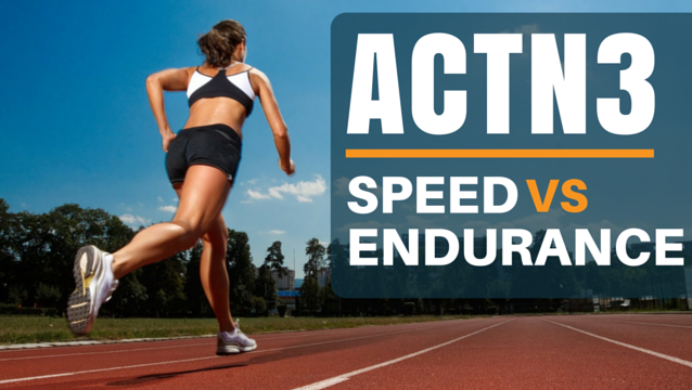 ACTN3: Speed vs. Endurance