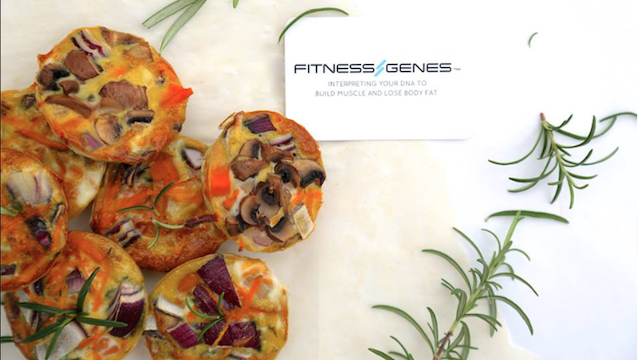 FitnessGenes Food: Pop Frittatas