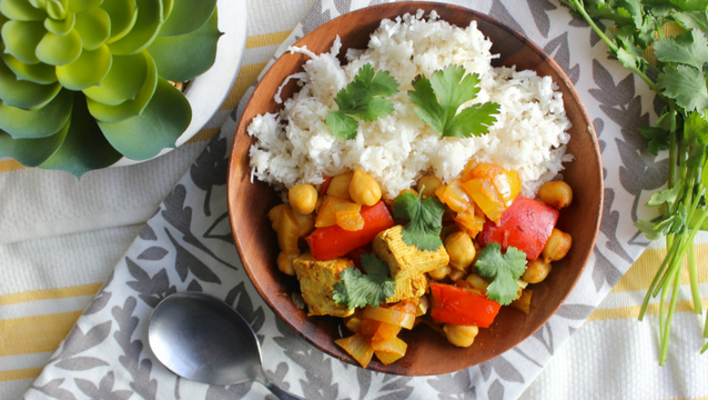 Chickpea & Tofu Curry