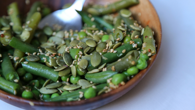 Green Bean and Sesame Salad