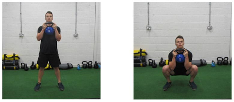 Struggling To Squat? Grab A KettleBell And Improve Your Technique