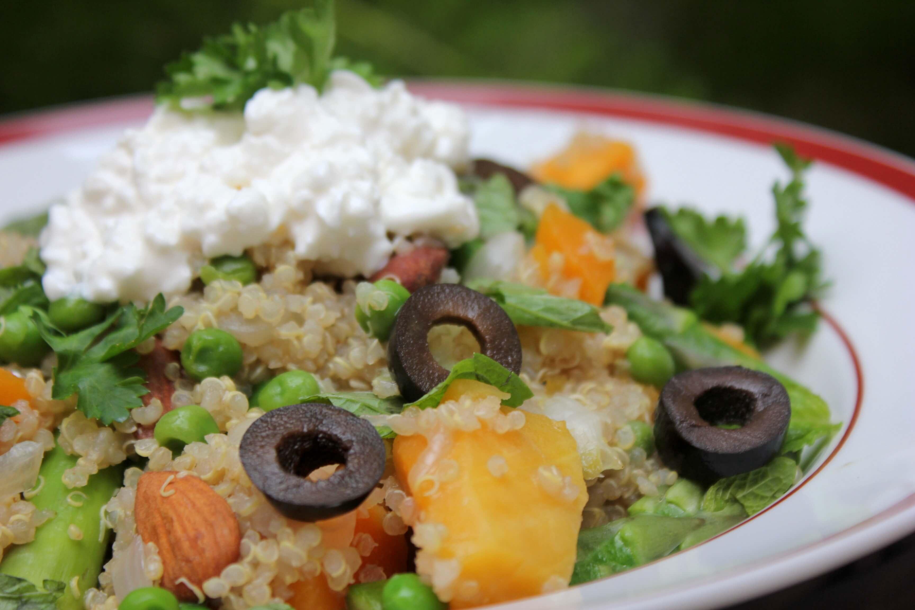 Butternut Quinoa Protein Bowl