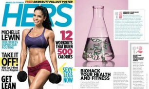 Muscle & Fitness Hers Front Cover