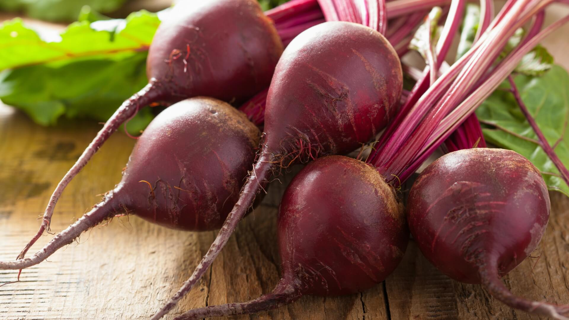 The purple vegetable