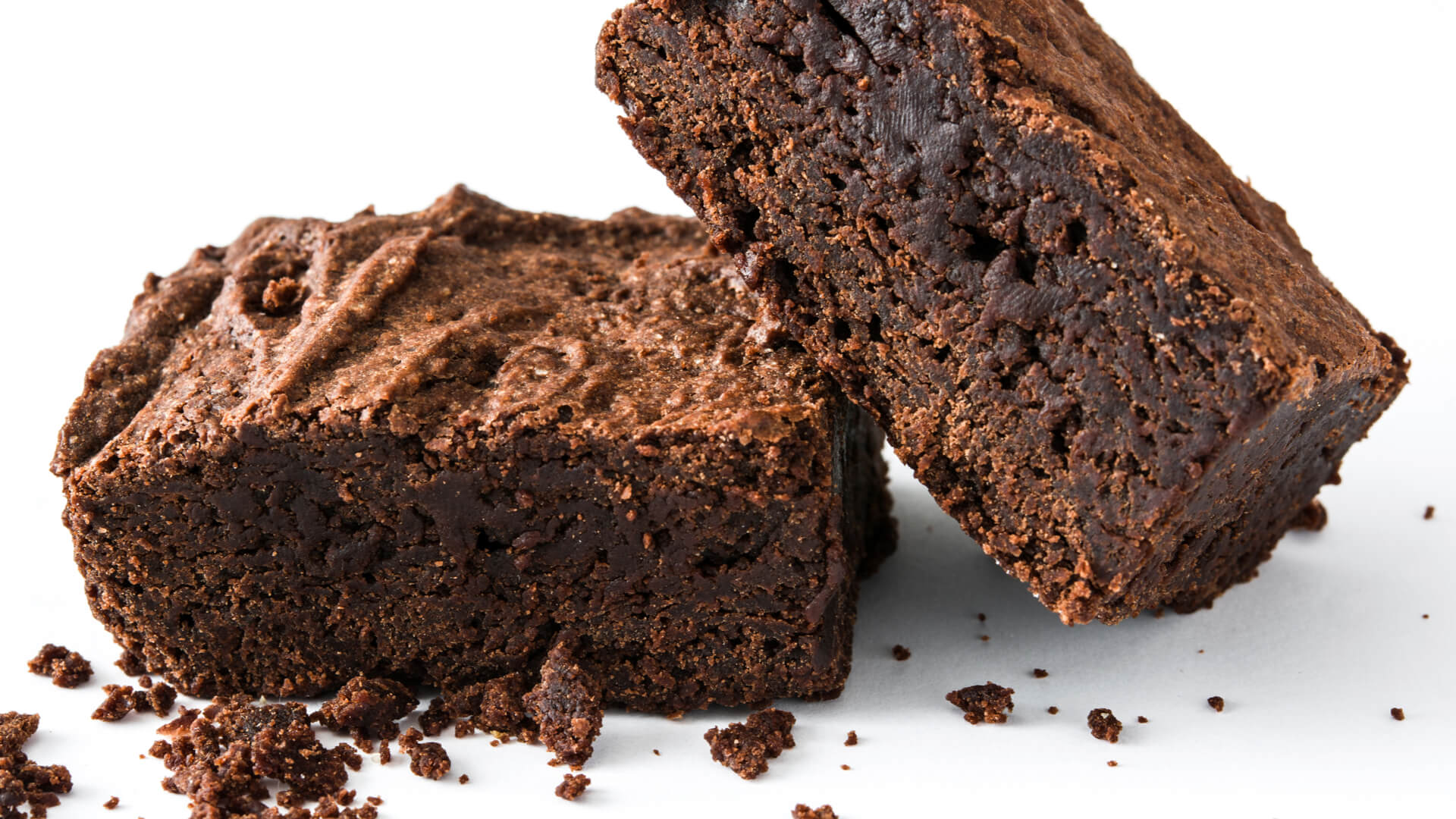 Triple chocolate protein brownies