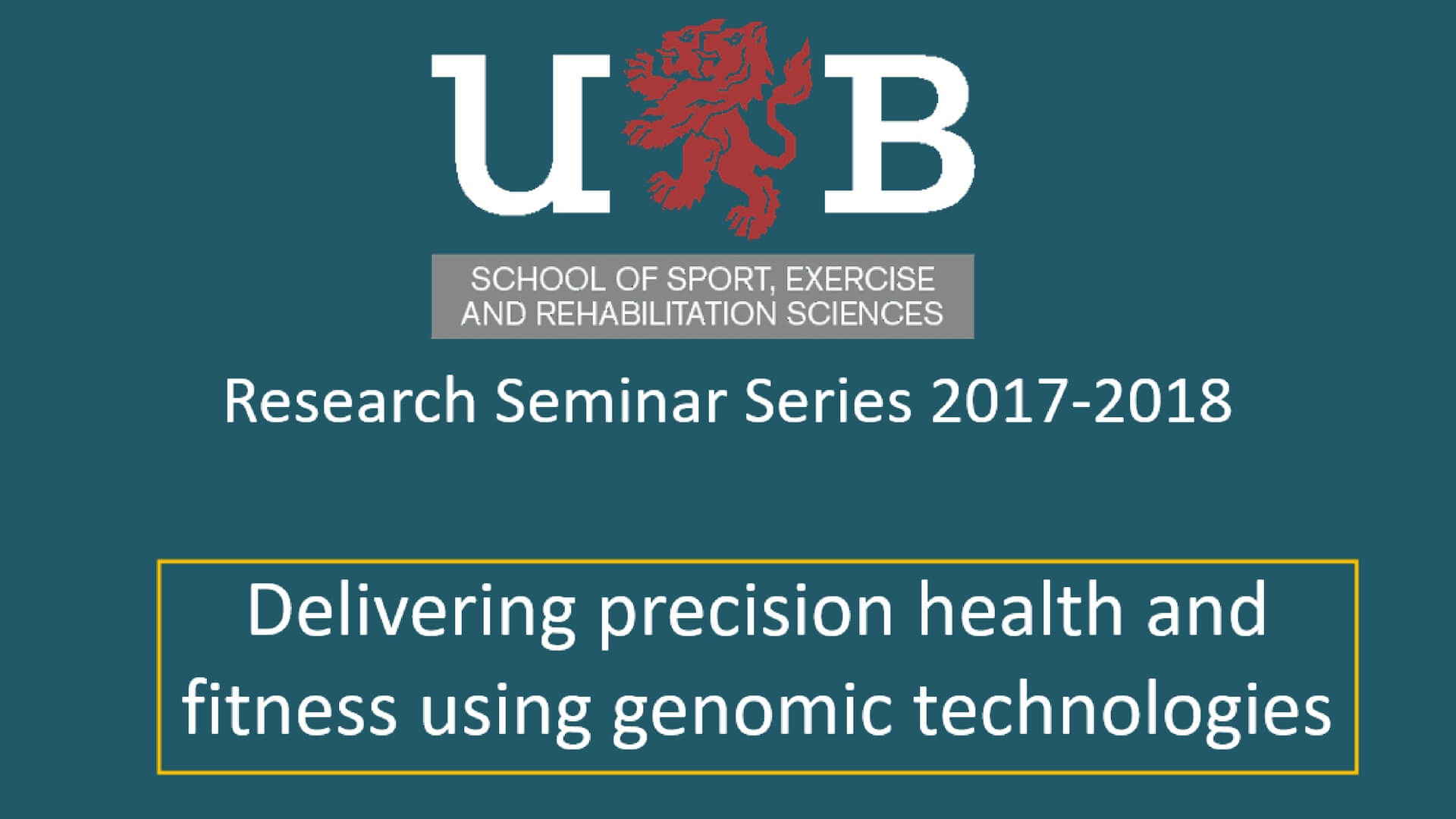 Delivering precision health and fitness using genomic technologies