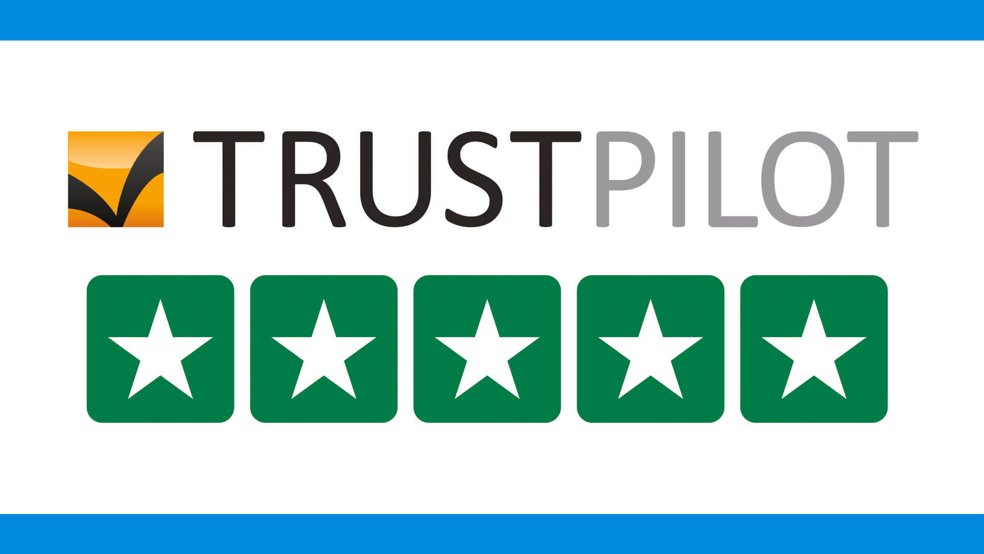 TrustPilot 5* Customer Review