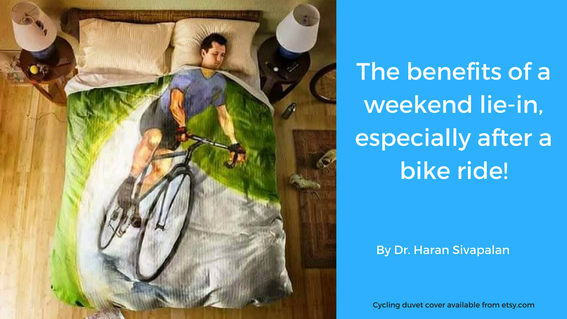 The benefits of a weekend lie-in