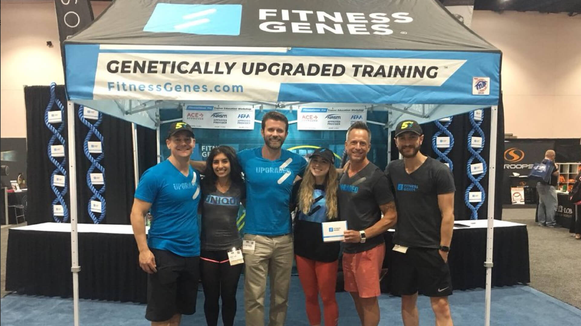 FitnessGenes Pro launches at IDEA World in San Diego