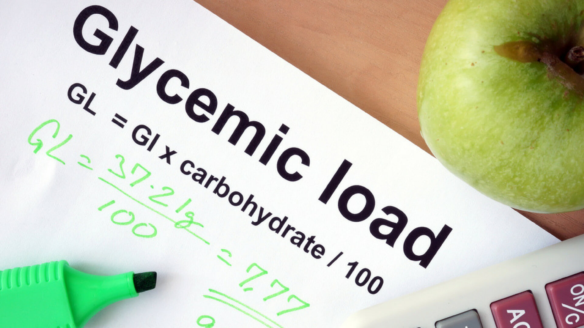 Glycemic load and glycemic index - what are they and why they matter