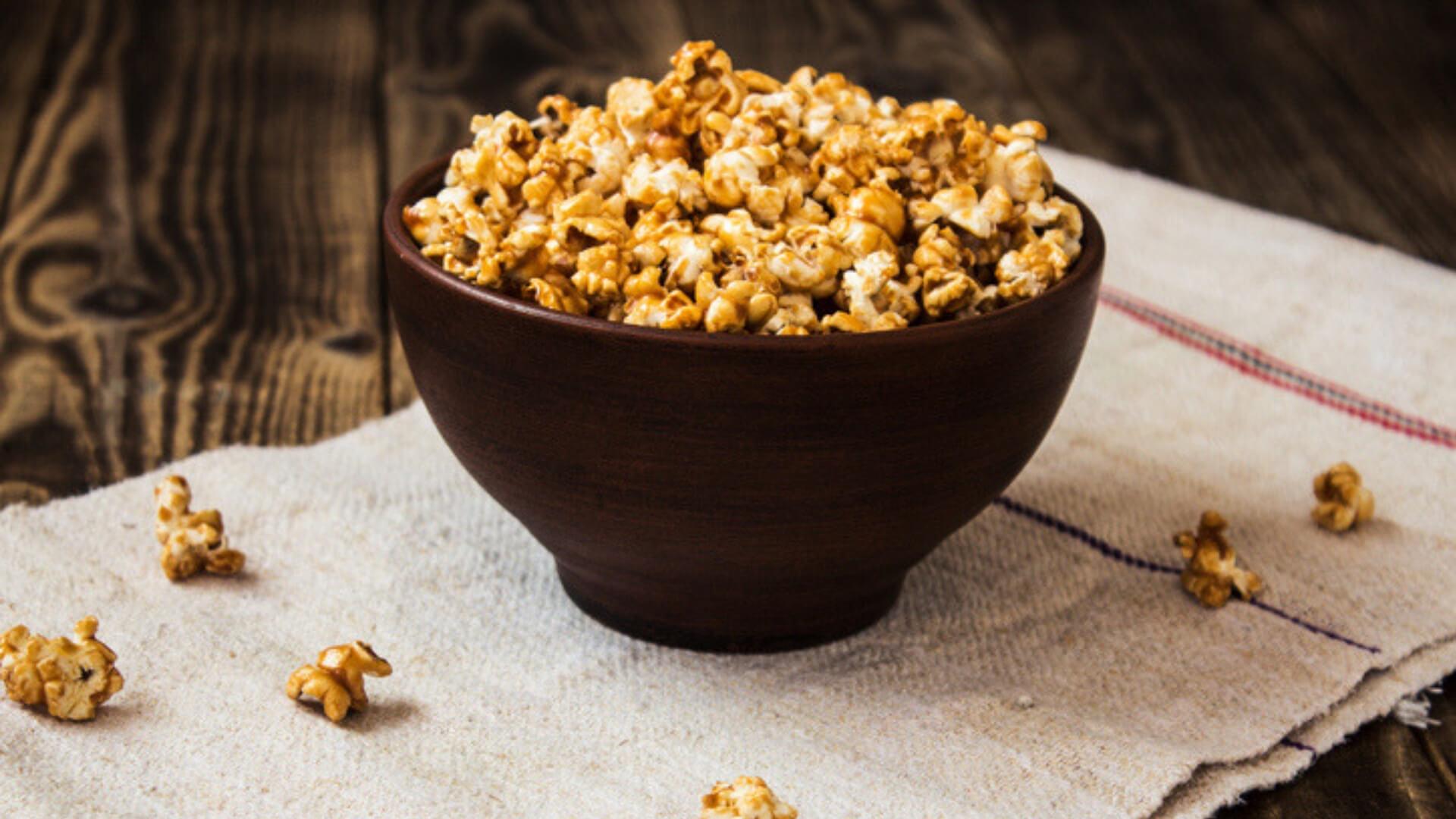 High Protein Popcorn