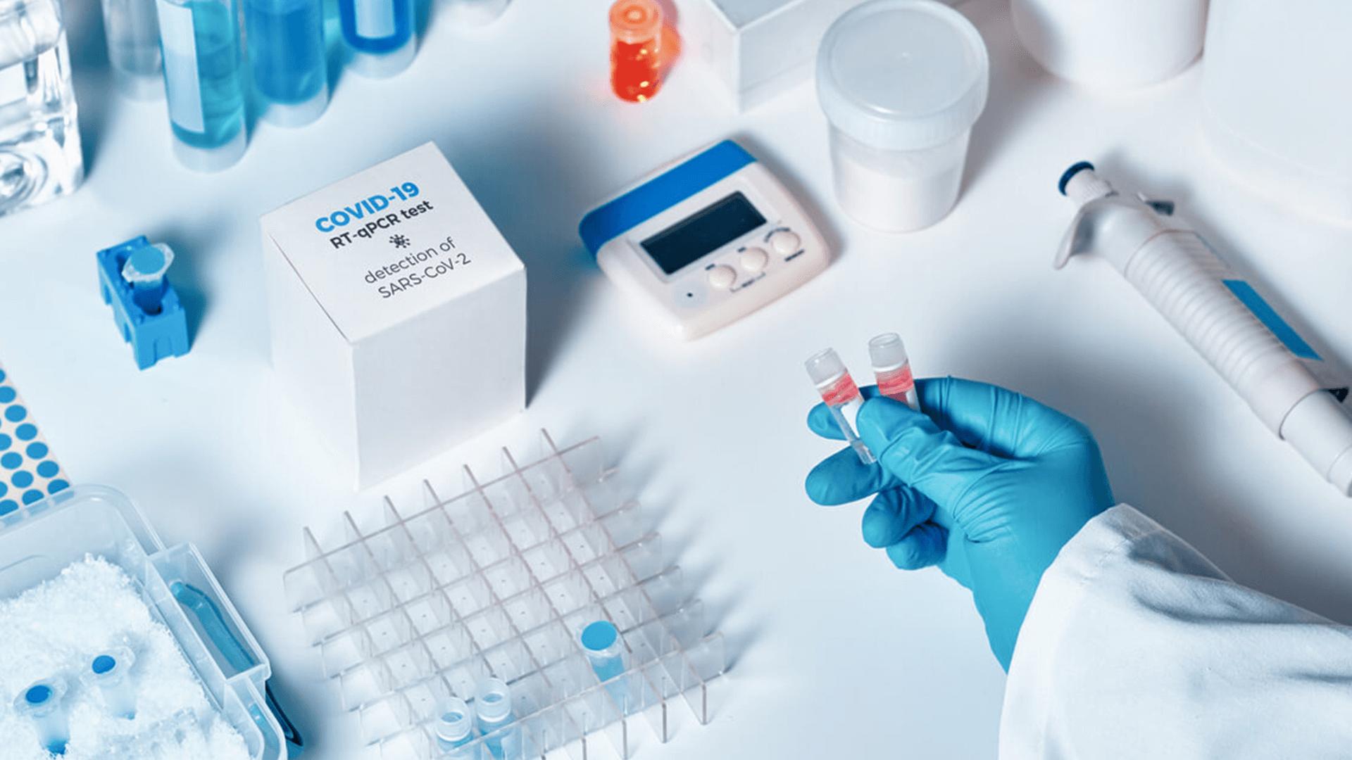 COVID-19 saliva testing kit